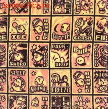 Kirby Super Star Mini Towel Copy Ability Ver. Banpresto JAPAN GAME