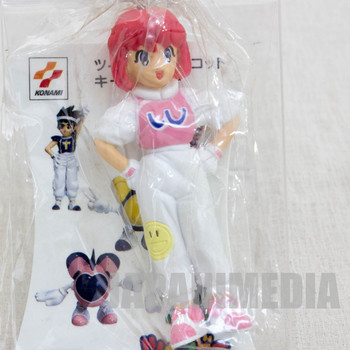 RARE! TwinBee Pastel Figure Key Chain Konami JAPAN GAME FAMICOM NES