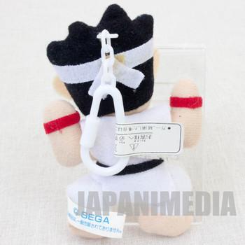"""Virtua Fighter 2 Akira Yuki 3.5"""" Mini Plush Doll SEGA 1995 JAPAN GAME 2"""