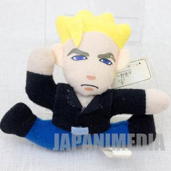 """Virtua Fighter 2 Jacky Bryant 3"""" Mini Plush Doll SEGA 1995 JAPAN GAME 2"""