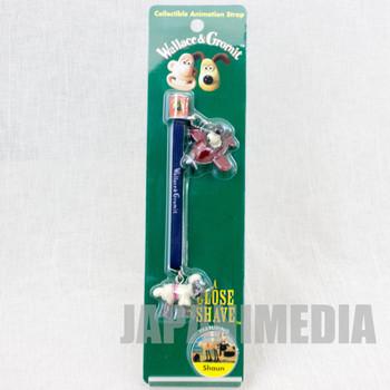 Wallace & Gromit Shaun Figure Collectible Animation Strap JAPAN Ardman ANIME
