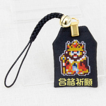 Game Center CX KING Omamori Amulet Strap JAPAN