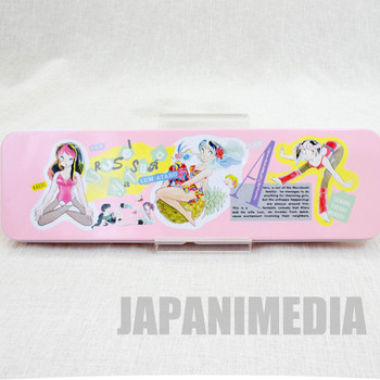 Retro RARE Urusei Yatsura Pen Case LUM JAPAN ANIME MANGA 1