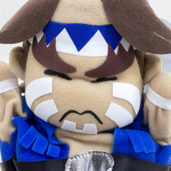Street Fighter 2 Thunder Hawk Puppet Plush Doll Capcom Character JAPAN GAME