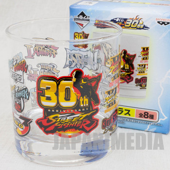 Street Fighter 30th Glass #4 Capcom Character Banpresto JAPAN GAME