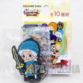 Dragon Quest Theatrhythm Rubber Charm Strap Terry JAPAN GAME WARRIOR