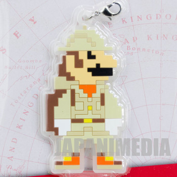 Super Mario Odyssey Rubber Charm Exploration Clothes JAPAN NINTENDO SWITCH