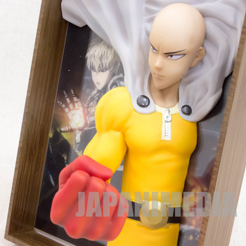 One Punch Man Saitama 2.5 Dimensions Picture Frame Figure Wave JAPAN ANIME MANGA
