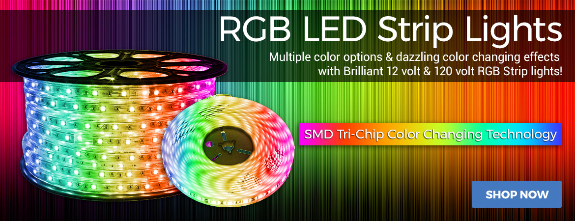 SMD RGB Color Changing Strip Lights