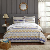 In 2 Linen Linea King Bed Quilt Cover Set