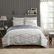 In 2 Linen Antigua Single Bed Quilt Cover Set