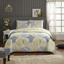 In 2 Linen Alecia Double Bed Quilt Cover Set