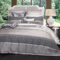 Private Collection Chantilly Silver Queen Size Quilt Cover Set