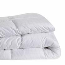 In 2 Linen Microfibre Queen Bed Quilt 400GSM   All seasons