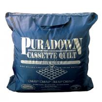 Puradown Duck Down Queen Bed Quilt 80/20 | Warm
