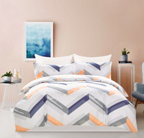 'In 2 Linen Jodie Double Bed Quilt Cover Set