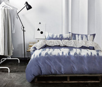 In 2 Linen Jungle Queen Bed Quilt Cover Set