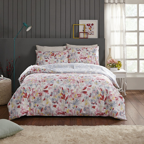 In 2 Linen Florence Single Bed Quilt Cover Set
