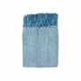 In 2 Linen Stanford Chenille Throw Rug | Teal
