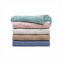 In 2 Linen Kent Knitted Throw Rug | Pearl Aqua