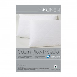 In 2 Linen Standard Pillow Protector | 100% Cotton