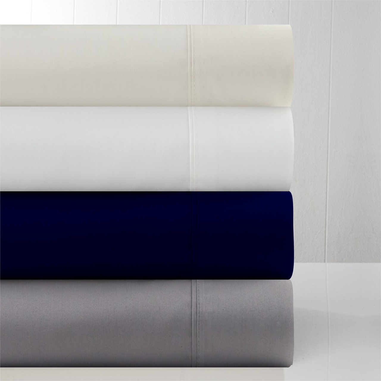 In 2 Linen 800TC Supima Cotton Mega King 50cm Fitted Sheet