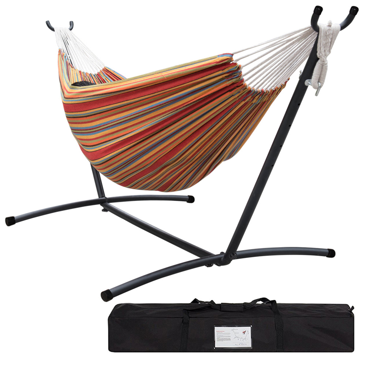 groupon steel stand gg space deals hammock sorbus saving with double latest
