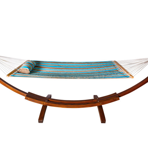 lazy daze hammocks all weather olefin fadesafe fabric quilted hammock with spread bar for two person     daze hammocks all weather olefin fadesafe fabric quilted hammock      rh   lazydazehammocks