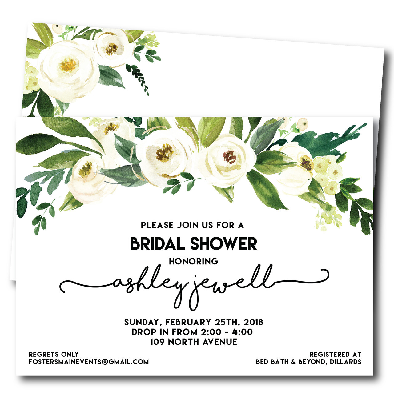 Jewell of a bridal shower wedding shower invitation the olive shoe jewell of a bridal shower wedding shower invitation filmwisefo