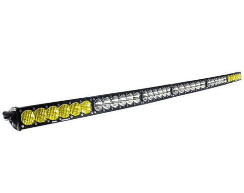 "Baja Designs OnX6, 60"" Arc Dual Control Amber/White LED Light Bar"