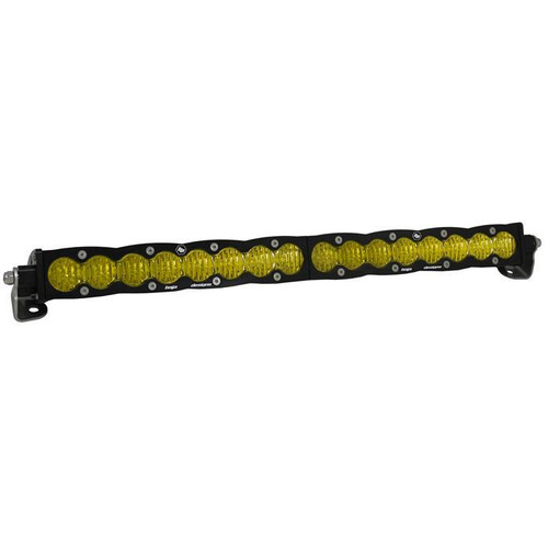"Baja Designs S8, 20"" Wide Driving LED Light Bar, Amber"