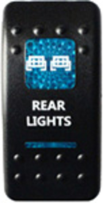 Rear Lights Rocker Switch (Blue)