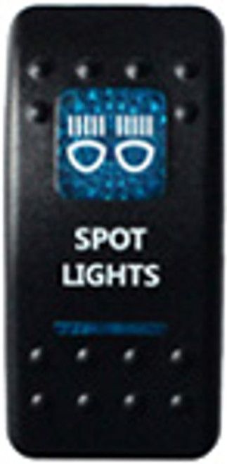 Spot Lights Rocker Switch (Blue)