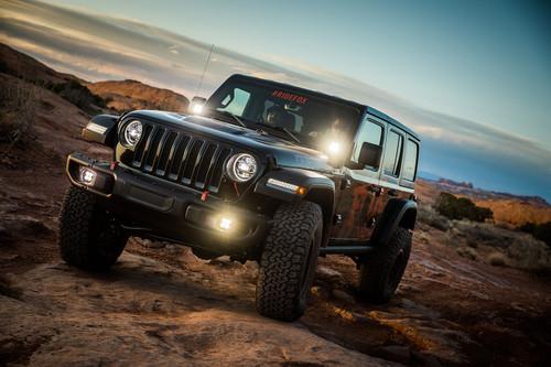 Baja Designs Jeep JL (Rubicon), Squadron-R Sport, Fog Pocket Kit