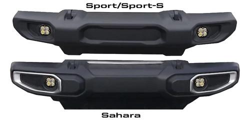Baja Designs Jeep JL (Sahara), Squadron-R Pro, Fog Pocket Kit
