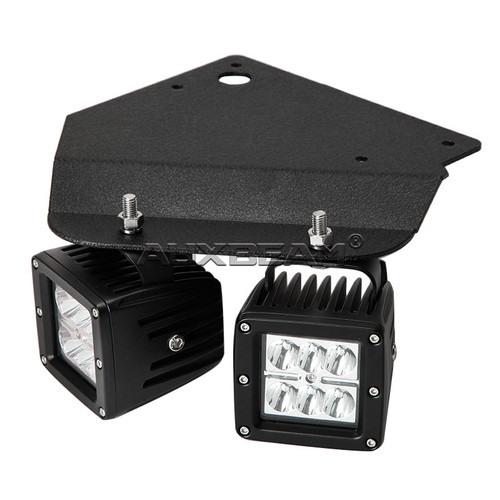 "9.45"" LED Fog Light Mounting Brackets for 2010-2015 Ford F-150 Raptor"