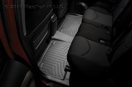 WeatherTech Rear FloorLiner for Select Honda CR-V Models (Black)