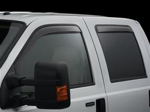 WeatherTech Ford 2015 F-150 Side Window Deflectors - In-Window-Channel