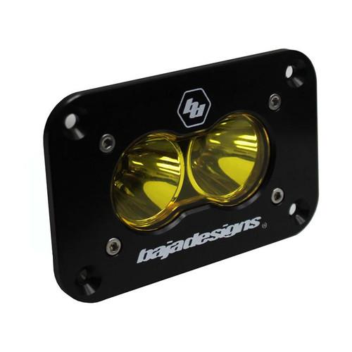 Baja Designs S2 Pro, Flush Mount, LED Spot, Amber