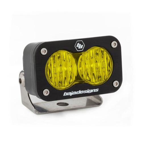 Baja Designs S2 Sport, LED Wide Cornering, Amber