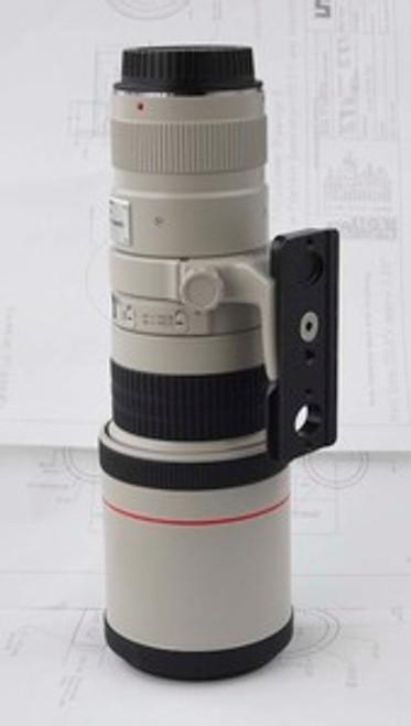 """Custom Lens Plate: Canon 400mm, 5.6 & """"A"""" collar"""