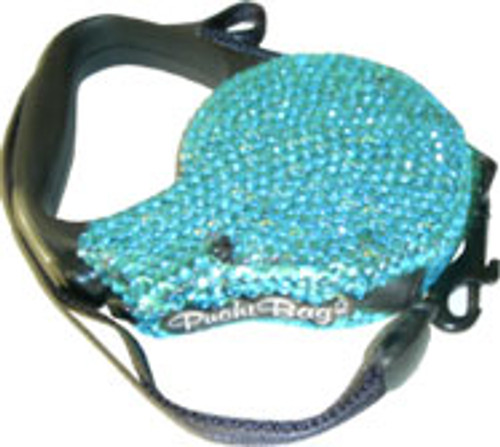 Blue Swarovski® Crystal Leash