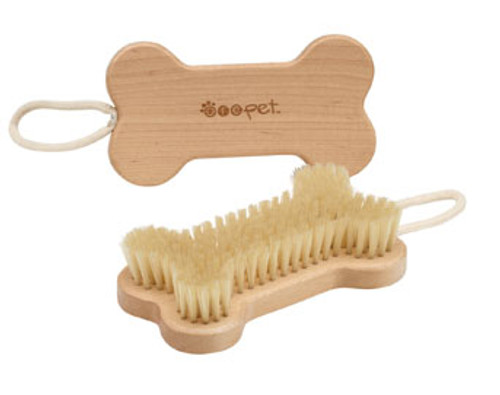 Natural Boar Bone Pet Brush
