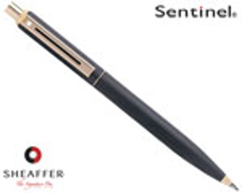 Sheaffer Sentinel Black Matte G/T 0.7mm Pencil
