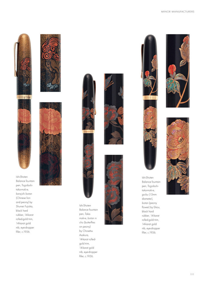 Fountain Pens of Japan page 111
