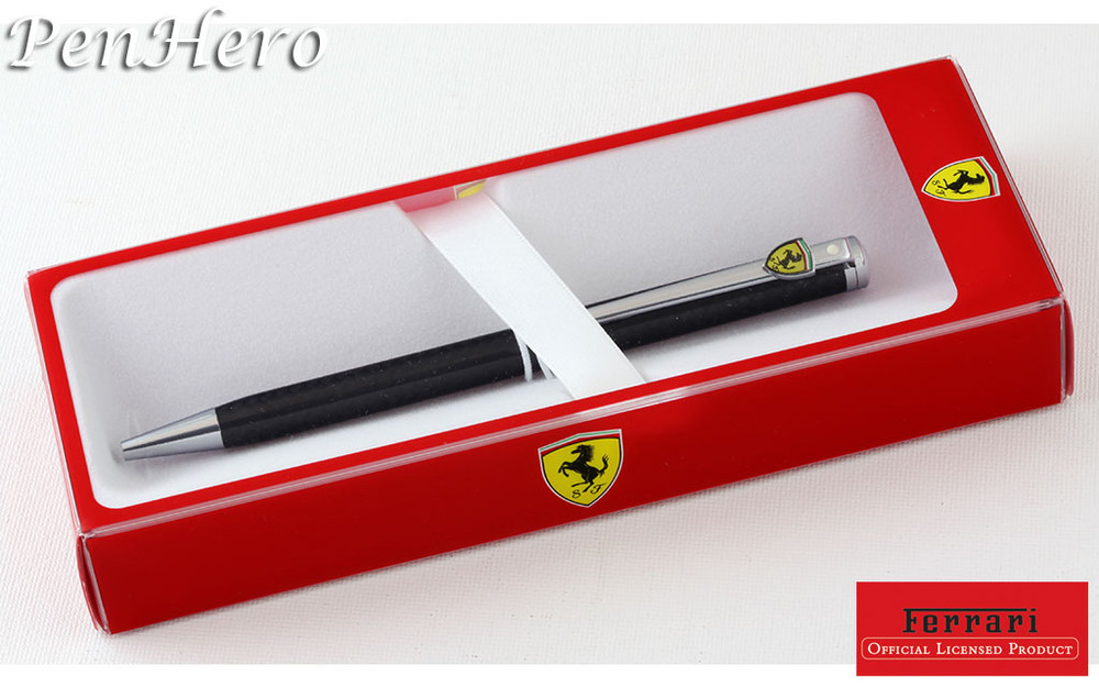 Sheaffer Ferrari Intensity Carbon Fiber Ballpoint Pen