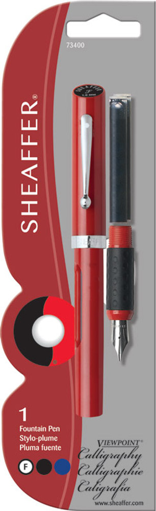 Sheaffer Viewpoint Calligraphy Fountain Pen Fine in blistercard