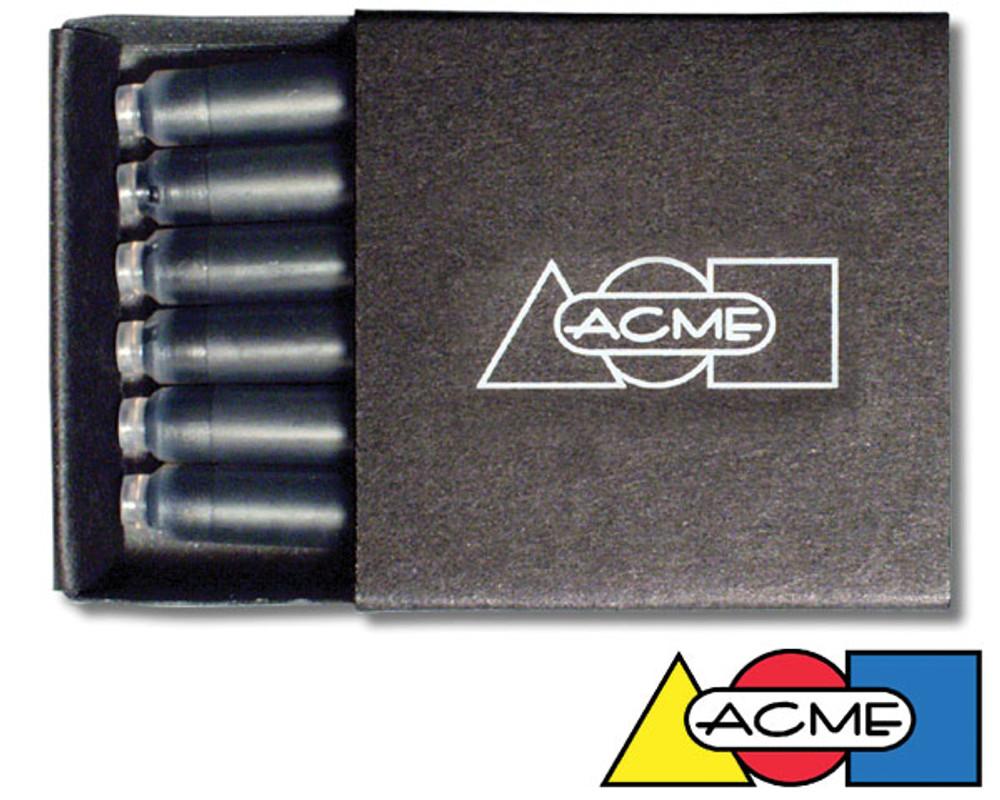 ACME Fountain Pen Cartridges Blue - 6 Pack