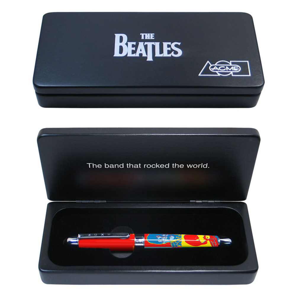 ACME The Beatles: 1967 Limited Edition Rollerball Pen in gift box