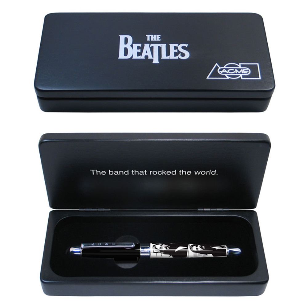 ACME The Beatles: 1969 Limited Edition Rollerball Pen in gift box